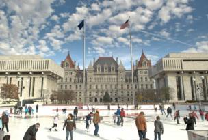 Ice Skating – Empire State Plaza